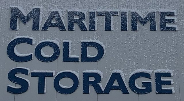 Maritime Cold Storage Sign